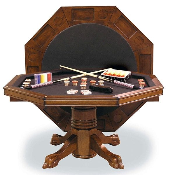 54 3 In 1 Combination Game Table With Bumper Pool