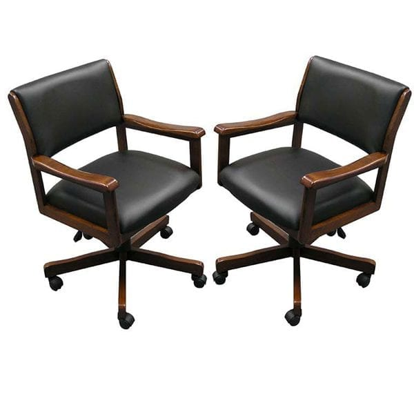 Chestnut Two Signature Game Chairs