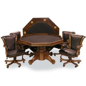 Chestnut Executive Game Tables Sets