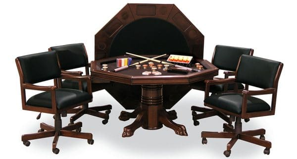 3 in 1 Game Table Set with 4 chairs