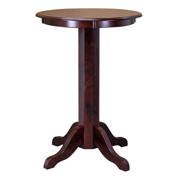 Mahogany Bistro Table