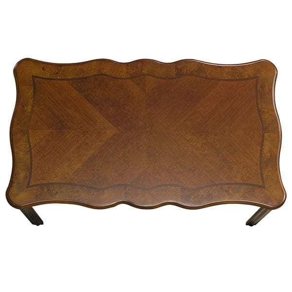 Classic Rectangular Coffee Table Set