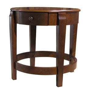 Classic Accent Table with Drawer